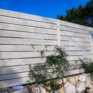 גדר עץ שמנת 0026